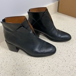 Jeffree Campbell Black Jermaine Ankle Boot - 8